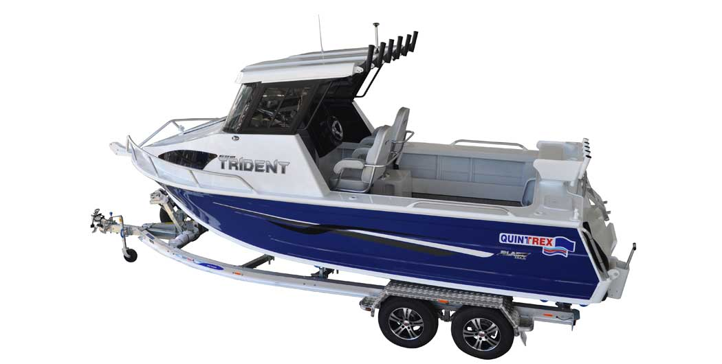 650 Trident Hard Top Plate Boat Package