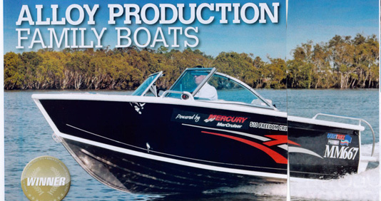 Alloy Production Family Boats