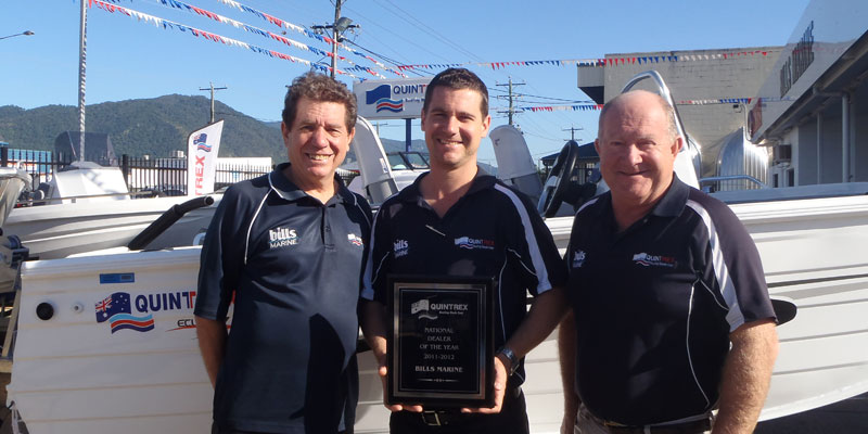 Bills Marine takes out Quintrex highest honour
