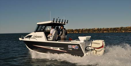 650 Trident Hard Top Plate Boat